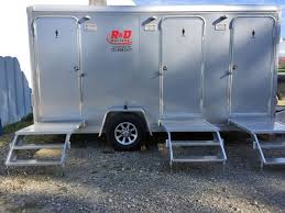 Bathroom Trailer Rental Beauteous Restroom Trailers Portable PortaJohns Carmichaels PA