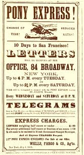 Pony Express Poster