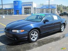 2002 Blue Black Metallic Pontiac Grand Prix GT Sedan #47057721 ...