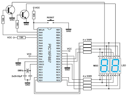 two digit led counter multiplexing circuit diagram knowledge two digit led counter multiplexing circuit diagram knowledge circuit diagram and led
