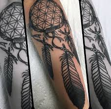 Dream Catcher Tattoos For Men