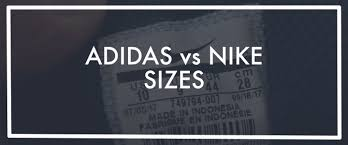 Adidas Vs Nike Sizing Find The Differences Between Sizes