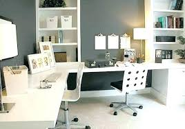home office ideas for two. Home Office Workstation Two Sided Desk Medium Size Of Double Ideas For S