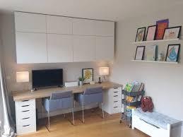 home office ideas ikea. Brilliant Ikea Great Office Ideas Ikea Home And Kids Area Besta Cabinets Alex Desk  With To I
