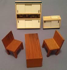 miniature dollhouse furniture woodworking. 1950s Wichtelmarke East German Miniature Doll House Furniture Paul Hubsch #Wichtelmarke Dollhouse Woodworking O