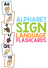 Ready to print you free printable flash cards ? Alphabet Sign Language Flash Cards From Abcs To Acts