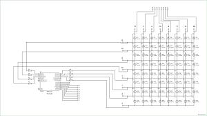 Atmega8 led matrix circuit diagram