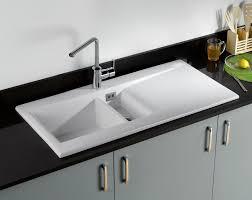 white kitchen sink with drainboard. Kitchen Sink With Drainboard Stainless White W