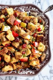 sausage apple and cranberry stuffing