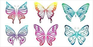 Printable Butterfly Outline Butterflies Printables Free Printable Life Cycle Butterfly
