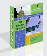 The Federal Resume Sample Book - 20 Resume Samples E-Book