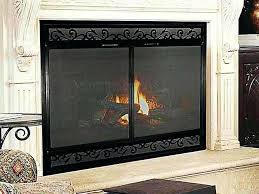 fireplace insert glass doors fireplace glass doors wood fireplace glass doors open or closed