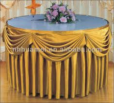 new style hotel table skirt designs table skirting designs