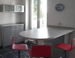 Table De Cuisine Avec Plan De Travail Design De Maison