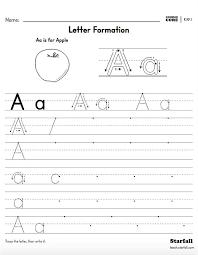 Kindergarten Letter Formation Worksheet Generator - K.RF.1 - teach ...