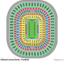 Organized Jones Dome Seating Chart Edward Jones Dome St