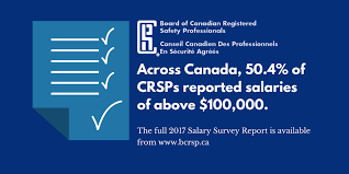 Salary Report 2017 Salary Survey Report Board Of Canadian Registered Safety