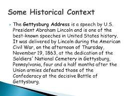 gettysburg address rhetorical analysis workshop ppt video online some historical context