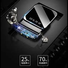 Mã ELFLASH5 giảm 20K đơn 50K] sạc pin dự phòng [ 2 cổng sạc 10 000mah] đủ  dung lượng, có đèn pin kiêm giá đỡ điện thoại - Pin sạc dự phòng