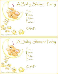 baby shower registry cards template free baby shower card sample baby shower card template printable baby