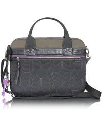 Fossil Key Per - Quilted Laptop Tote in Black   Lyst & Fossil   Key Per - Quilted Laptop Tote   Lyst Adamdwight.com