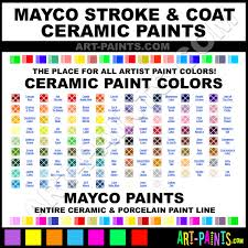 Stroke And Coat Glaze Chart Orkid Stroke And Coat Ceramic Paints Sc 85 Orkid Paint