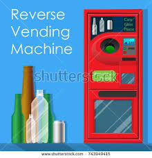 Reverse Vending Machine Recycling Custom Reverse Vending Machine Recycle And Reward Money From Garbage Cans