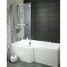l shaped bath l shape shower bath available from boiler and bath irregular shaped bathroom mirrors