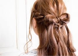 リボンヘアアレンジで可愛いねをget髪が短くてもokhair