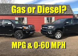 Gas or Diesel? 2017 Chevy Colorado V6 vs. GMC Canyon Diesel Towing ...