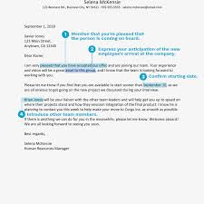 Congratulations Letter On New Job How To Write A Welcome Aboard Letter With Examples