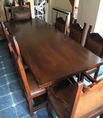9 foot dining table. Imposing Design 7 Foot Dining Table Sweet Looking Large Long 8 Seater With 2 9