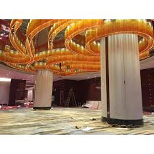 lasvit design crystal glass chandelier lighting for hotel lobby item 522018 made by china lighting manufacturer coart