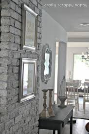 diy old outdated to chic brick wall tutorial this is a fabulous within how paint inspirations