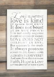 love is patient canvas wall art