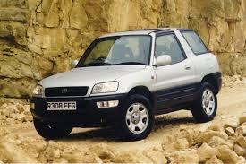 20 Years of Toyota's Ground Breaking RAV4 Compact SUV   Carscoops