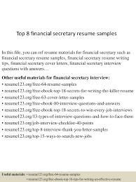 top8financialsecretaryresumesamples-150522131824-lva1-app6892-thumbnail-4.jpg?cb=1432300749
