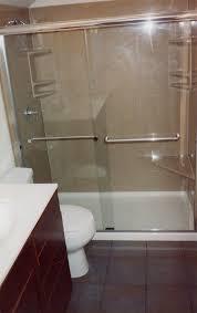 innovative shower stall bathtub tub to stall shower conversion
