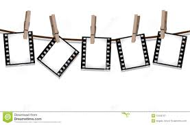 Film Strips Pictures Film Strips Hanging Out To Dry Stock Illustration Illustration Of