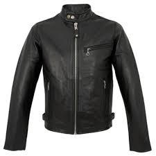 schott nyc clic racer black leather jacket lc940d
