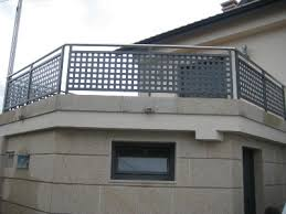 Barandilla De Aluminio  Enrejada  De Exterior  Para Escalera Barandillas De Aluminio Para Exterior