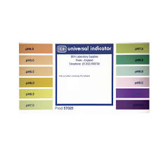 Color Chart For Universal Indicator Colour Chart For Ph 4 11 Indicator