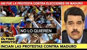 Resultado de imagen para elecciones en venezuela mayo 2018