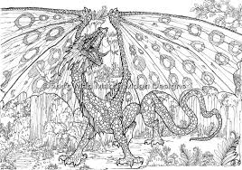Small Picture Dragon Adult Coloring Pages Gekimoe 39704
