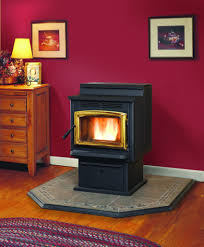 Which Is Better : Wood Stove vs Pellet Stove : Warmland PS45 Pedestal Pellet  Stove Design