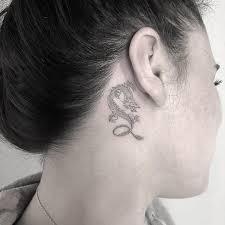 Little Dragon Tattoo Behind Ear Dragon Tattoo Design Dragon