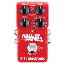 now in its second iteration the hall of fame from tc electronic continues its reign as a best in class all rounder this pedal can tackle just about any
