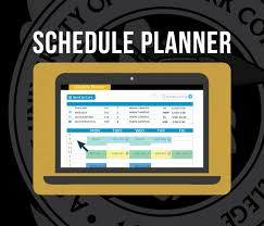 Online Course Schedule Planner Help Your Students Get Their Ideal Class Schedule For Spring
