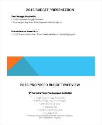 Format For Presentation Of Project Sales Budget Vs Actual Design Templates Presentation Template Ppt