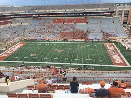 Texas Dkr Memorial Stadium Seating Chart Dkr Texas Memorial Stadium Section 103 Rateyourseats Dkr